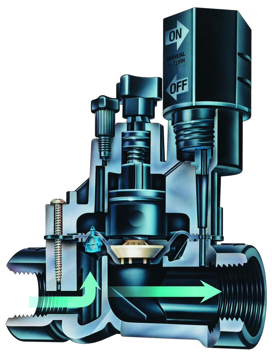 DVF cutaway